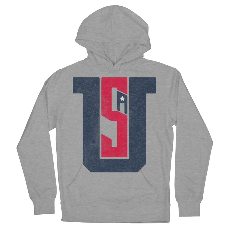 USA Men's Pullover Hoody by Lance Lionetti's Artist Shop