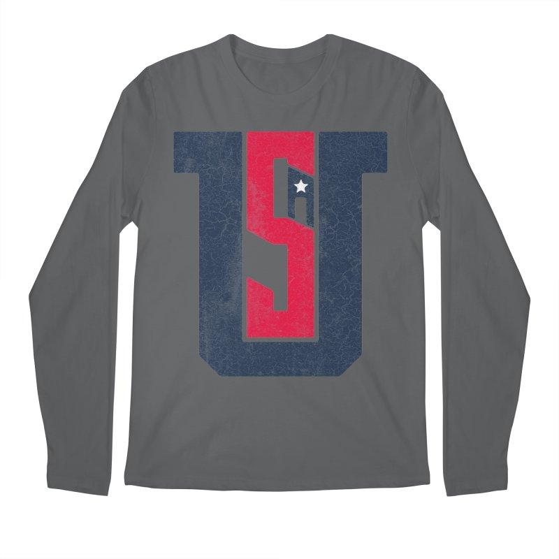 USA Men's Longsleeve T-Shirt by Lance Lionetti's Artist Shop