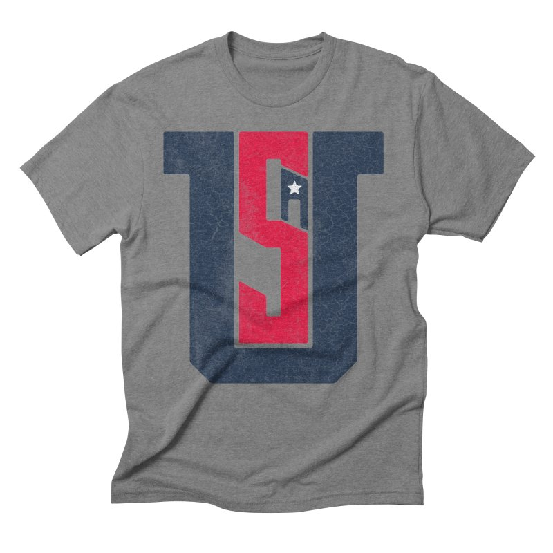 USA Men's Triblend T-Shirt by Lance Lionetti's Artist Shop