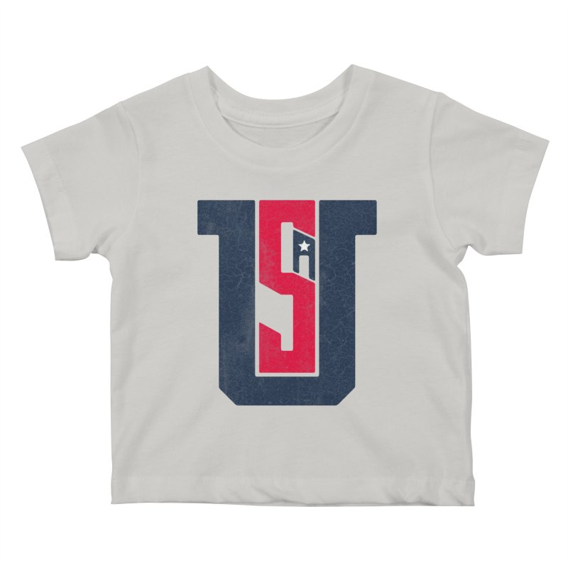 USA Kids Baby T-Shirt by Lance Lionetti's Artist Shop