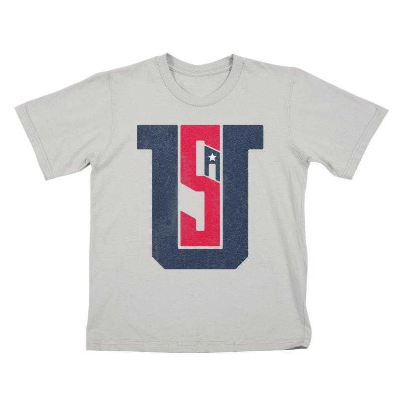 USA Kids T-shirt by Lance Lionetti's Artist Shop