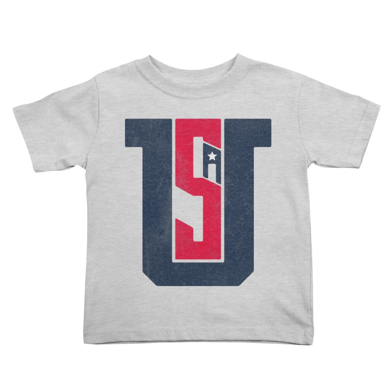 USA Kids Toddler T-Shirt by Lance Lionetti's Artist Shop