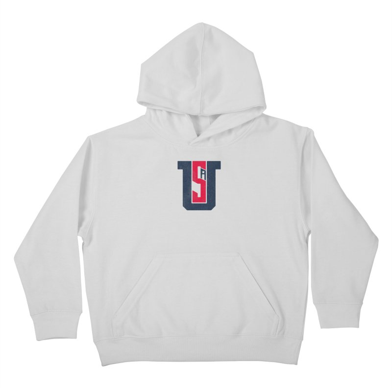 USA Kids Pullover Hoody by Lance Lionetti's Artist Shop