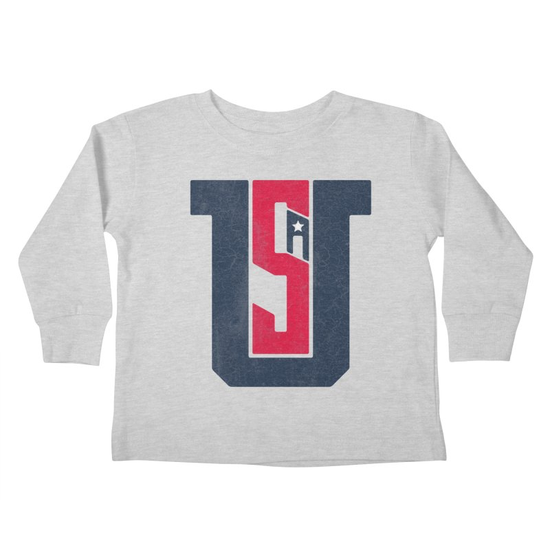 USA Kids Toddler Longsleeve T-Shirt by Lance Lionetti's Artist Shop