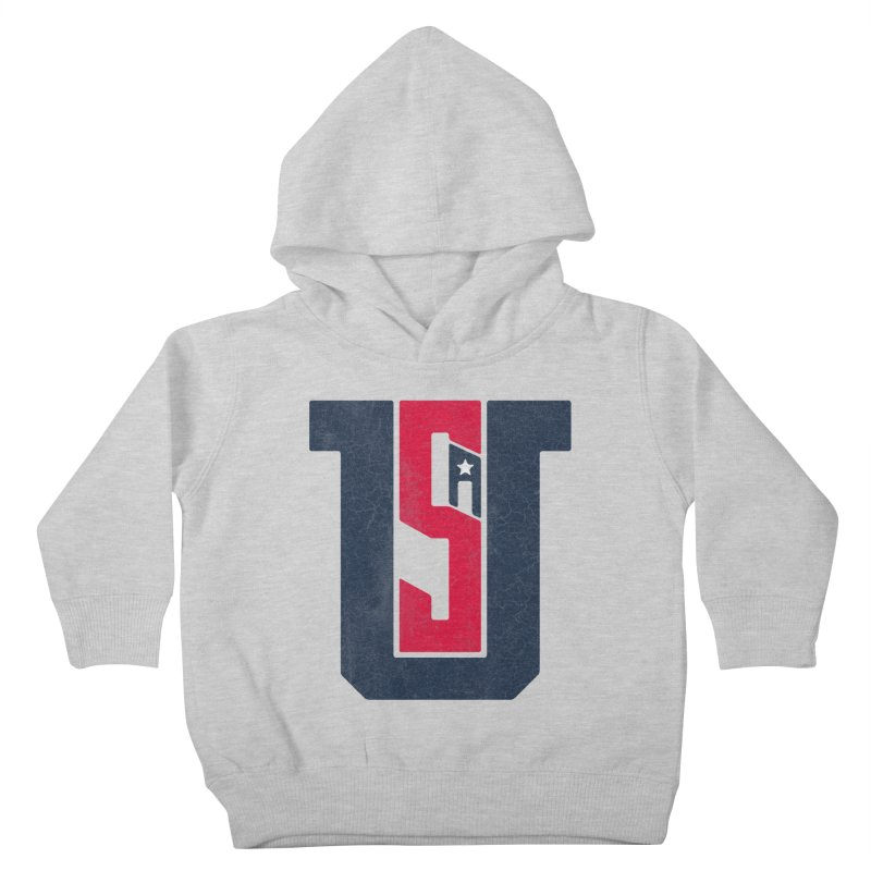 USA Kids Toddler Pullover Hoody by Lance Lionetti's Artist Shop