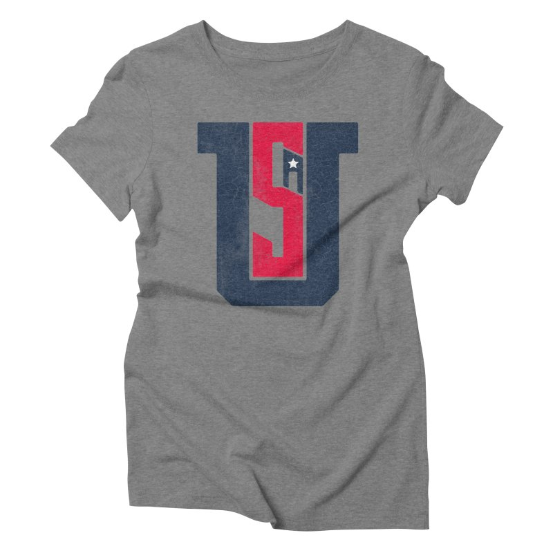 USA Women's T-Shirt by Lance Lionetti's Artist Shop