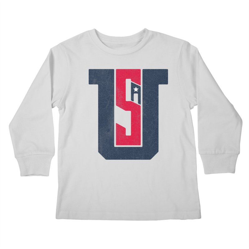 USA Kids Longsleeve T-Shirt by Lance Lionetti's Artist Shop