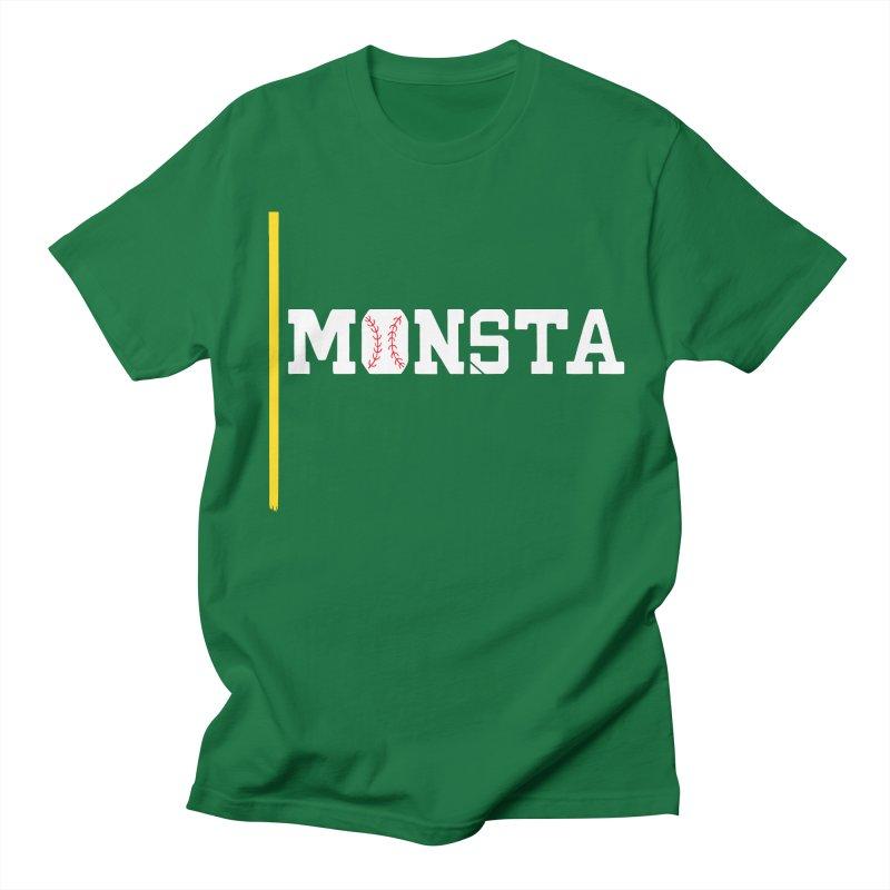 Monsta Men's T-Shirt by Lance Lionetti's Artist Shop