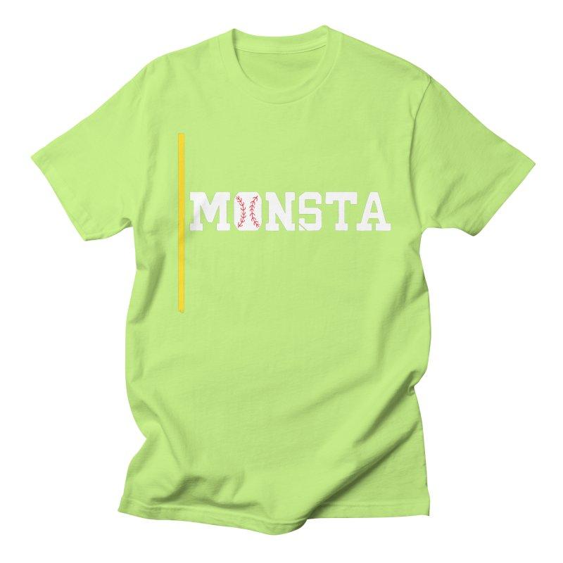 Monsta Men's Regular T-Shirt by Lance Lionetti's Artist Shop