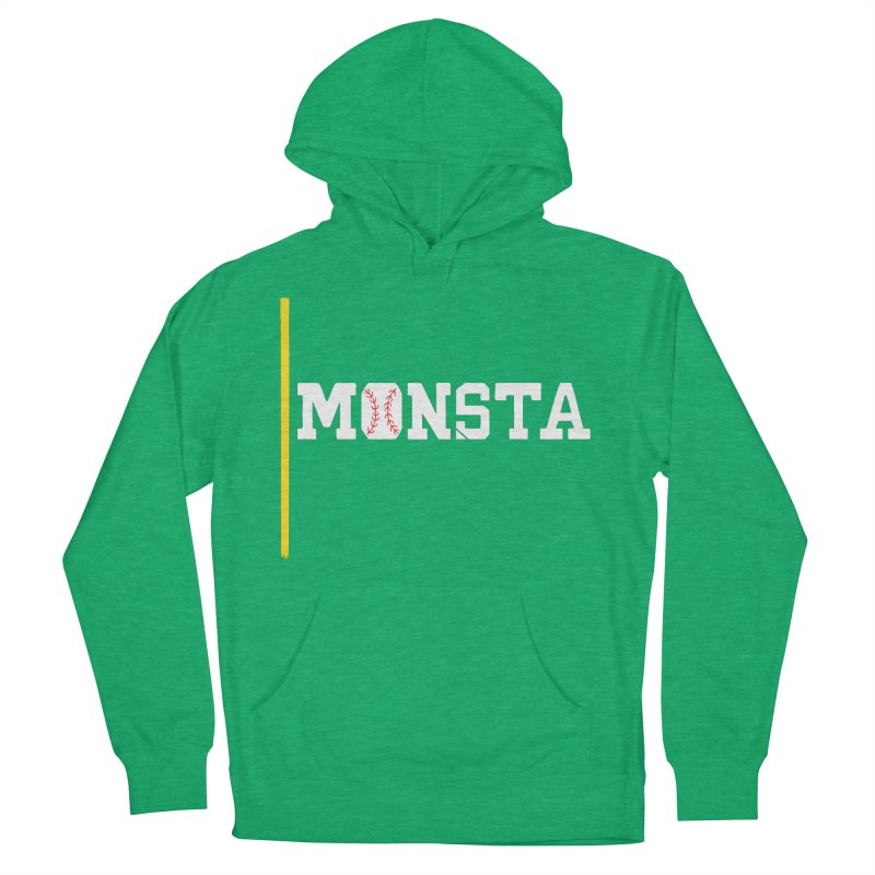 Monsta Men's Pullover Hoody by Lance Lionetti's Artist Shop