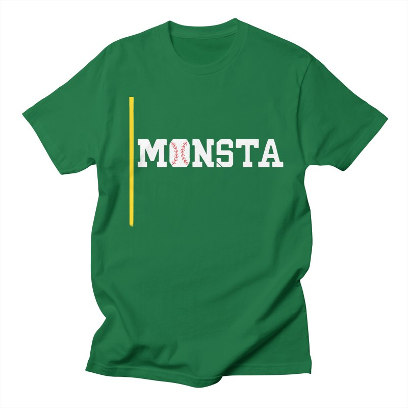 Monsta Men's T-shirt by Lance Lionetti's Artist Shop