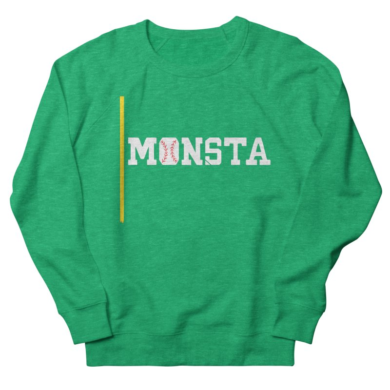 Monsta Men's French Terry Sweatshirt by Lance Lionetti's Artist Shop