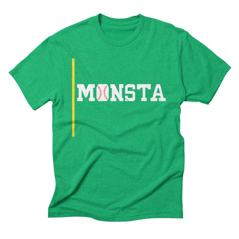 Monsta Men's Triblend T-Shirt by Lance Lionetti's Artist Shop