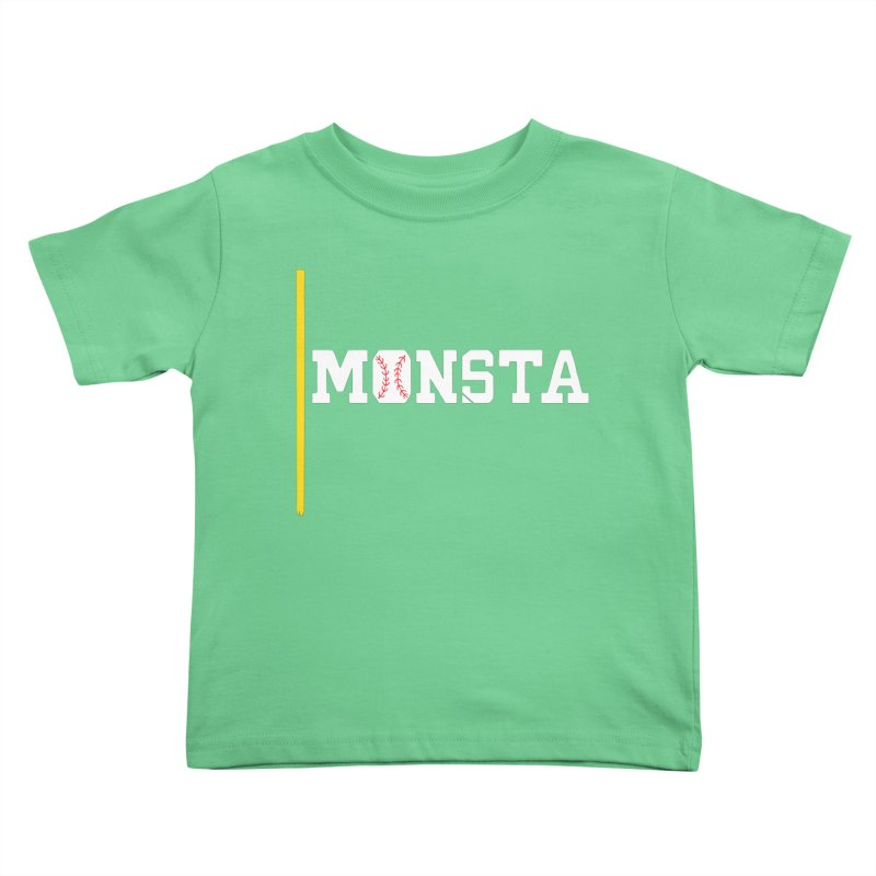 Monsta Kids Toddler T-Shirt by Lance Lionetti's Artist Shop
