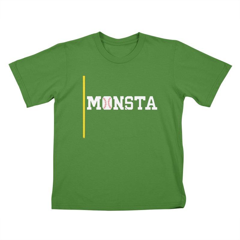 Monsta Kids T-shirt by Lance Lionetti's Artist Shop
