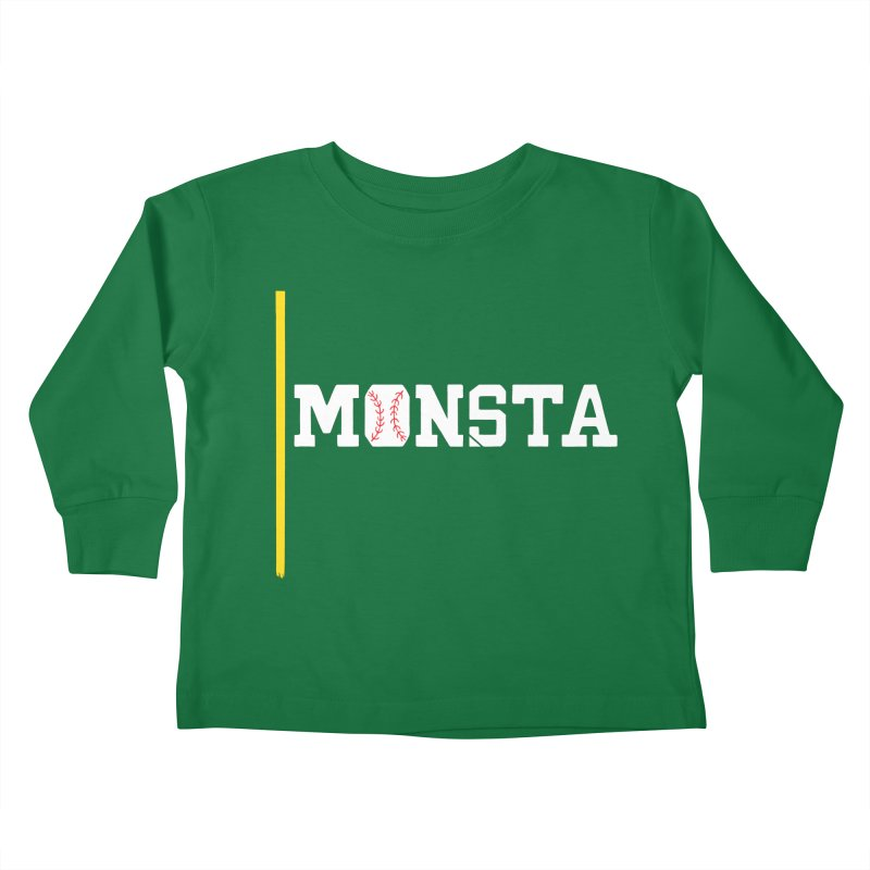 Monsta Kids Toddler Longsleeve T-Shirt by Lance Lionetti's Artist Shop