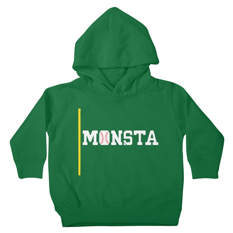 Monsta Kids Toddler Pullover Hoody by Lance Lionetti's Artist Shop
