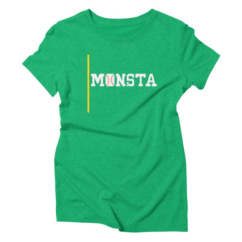 Monsta Women's Triblend T-Shirt by Lance Lionetti's Artist Shop
