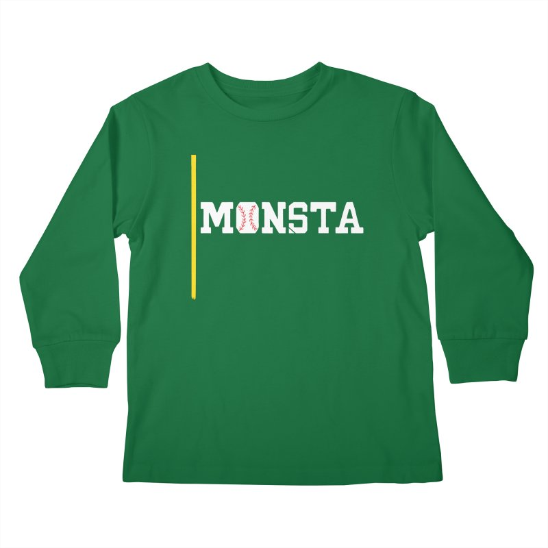 Monsta Kids Longsleeve T-Shirt by Lance Lionetti's Artist Shop