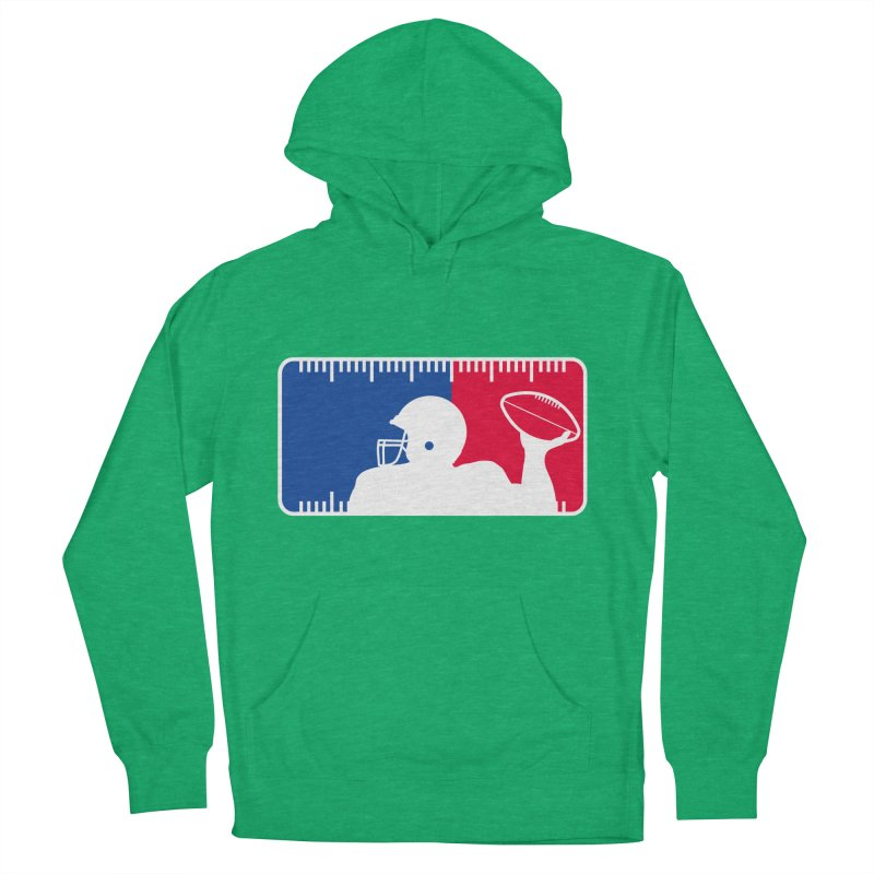 Major League Football Women's French Terry Pullover Hoody by Lance Lionetti's Artist Shop