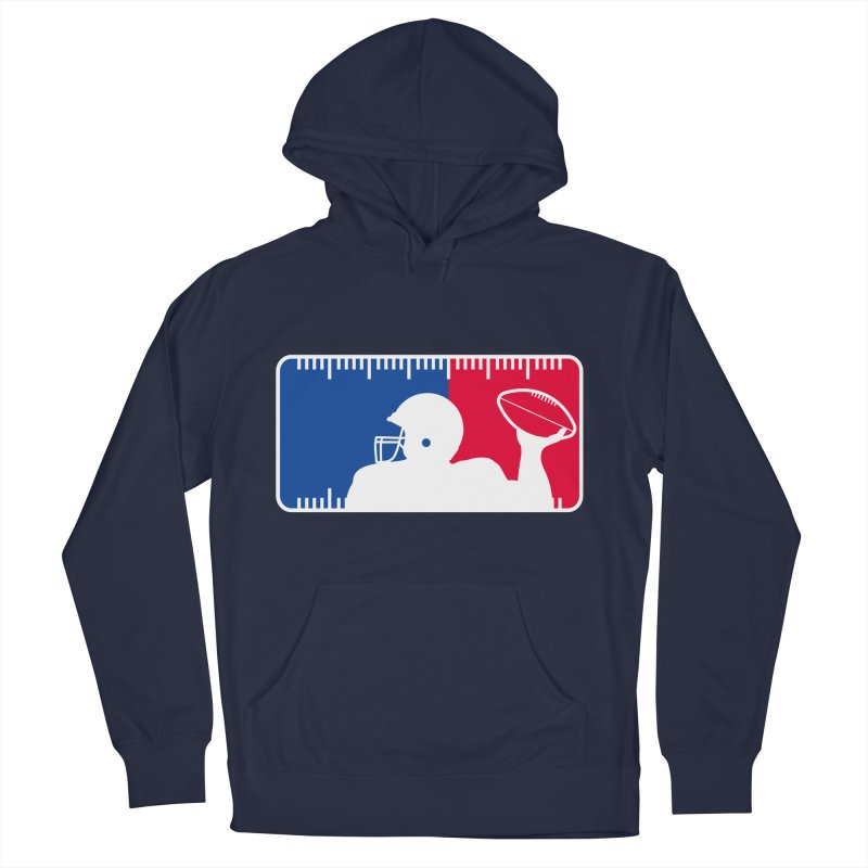 Major League Football Men's French Terry Pullover Hoody by Lance Lionetti's Artist Shop