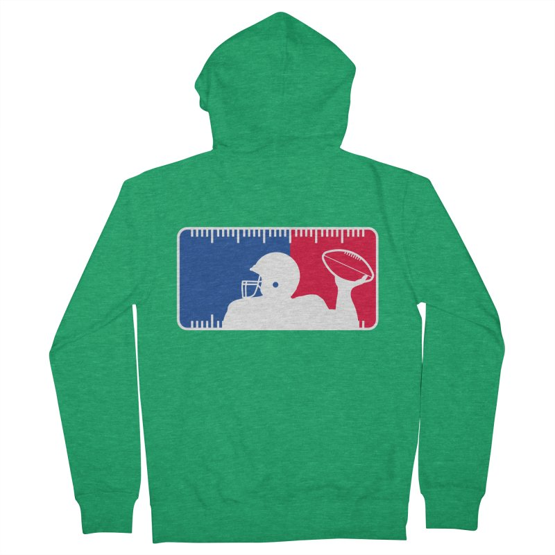 Major League Football Women's Zip-Up Hoody by Lance Lionetti's Artist Shop