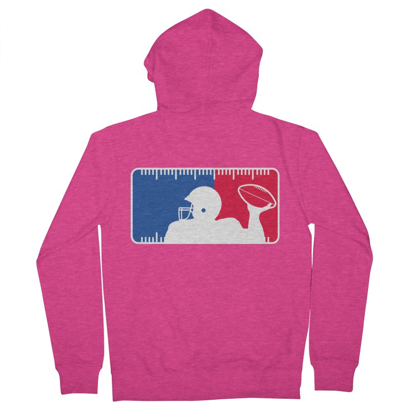 Major League Football Women's French Terry Zip-Up Hoody by Lance Lionetti's Artist Shop
