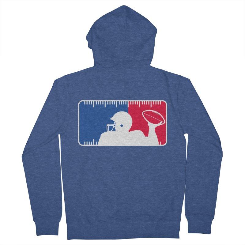 Major League Football Men's Zip-Up Hoody by Lance Lionetti's Artist Shop