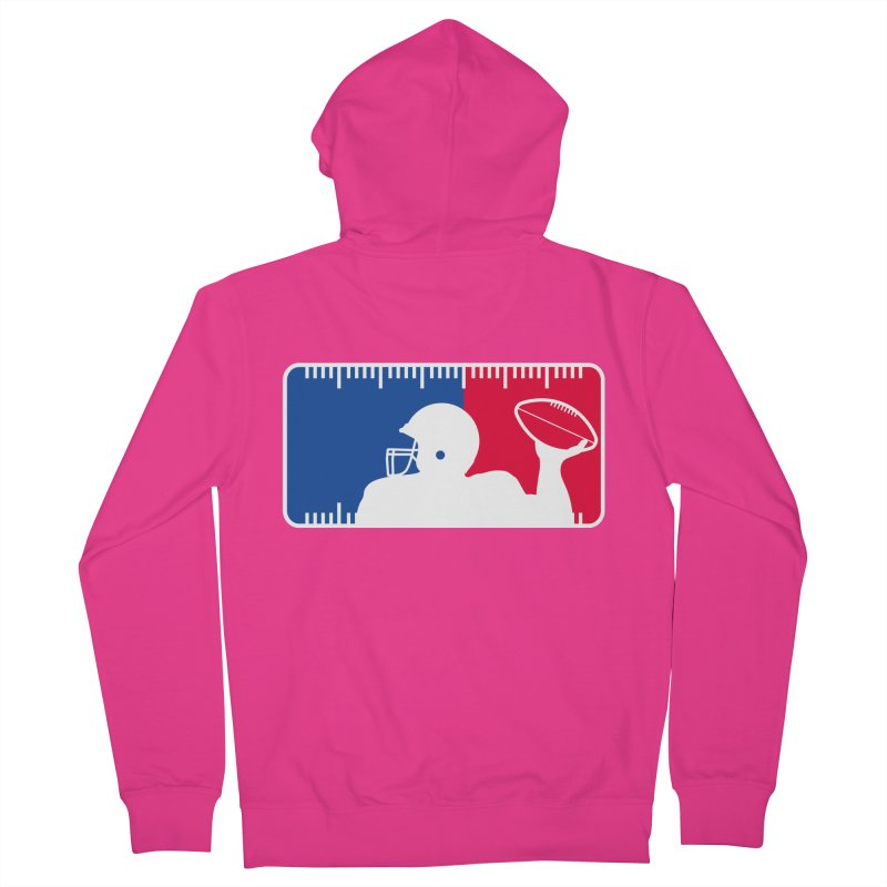Major League Football Men's French Terry Zip-Up Hoody by Lance Lionetti's Artist Shop
