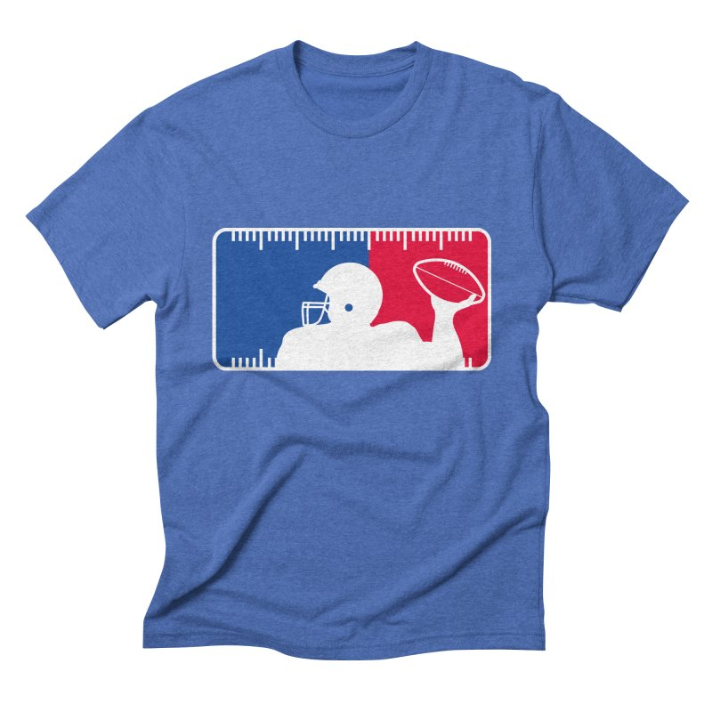 Major League Football Men's Triblend T-Shirt by Lance Lionetti's Artist Shop