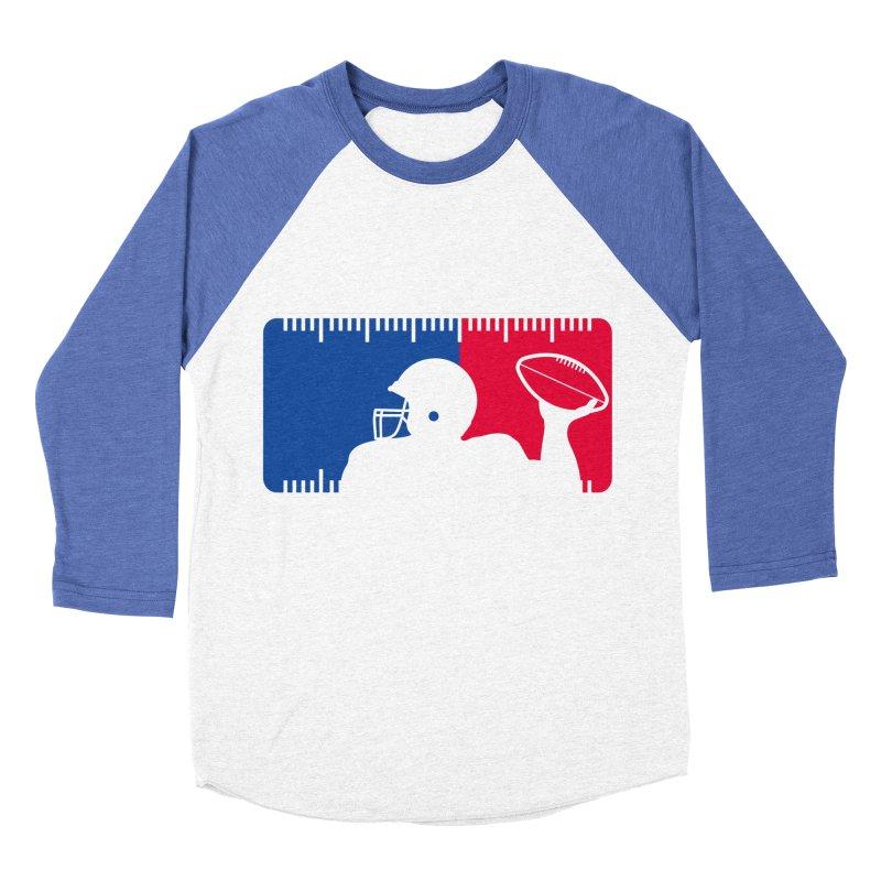 Major League Football Women's Baseball Triblend T-Shirt by Lance Lionetti's Artist Shop