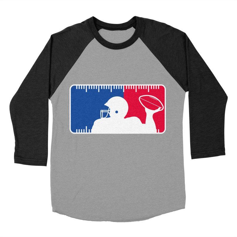 Major League Football Women's Baseball Triblend Longsleeve T-Shirt by Lance Lionetti's Artist Shop