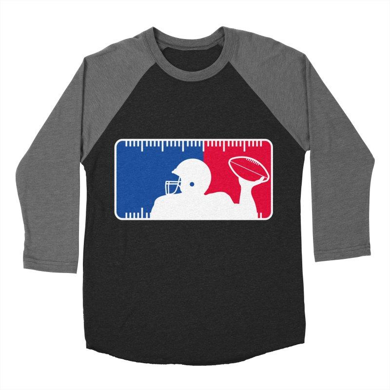 Major League Football Men's Baseball Triblend Longsleeve T-Shirt by Lance Lionetti's Artist Shop
