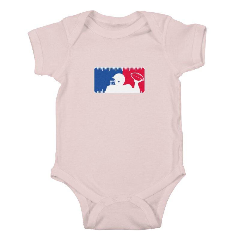 Major League Football Kids Baby Bodysuit by Lance Lionetti's Artist Shop
