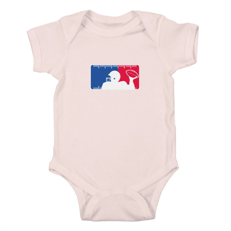 Major League Football Kids Baby Bodysuit by Lance Lionetti's Artist Shop