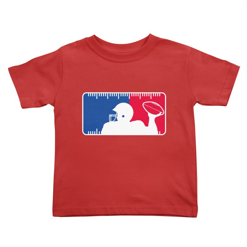 Major League Football Kids Toddler T-Shirt by Lance Lionetti's Artist Shop
