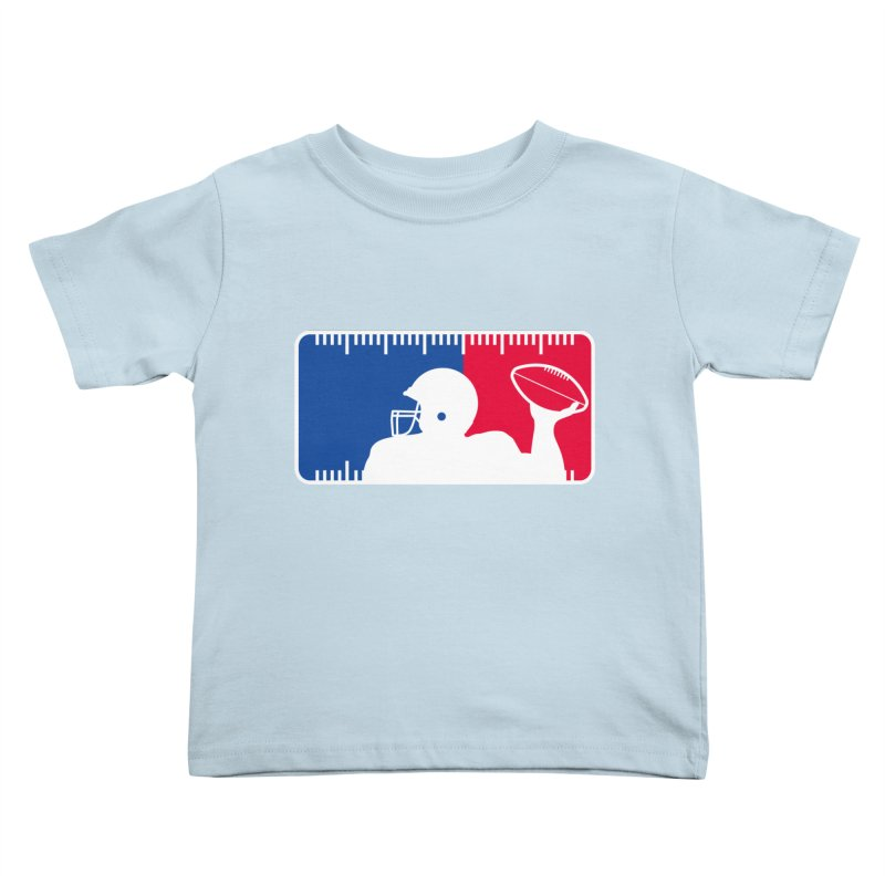 Major League Football Kids Toddler T-Shirt by Lance Lionetti's Artist Shop