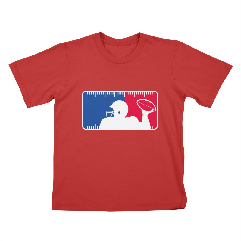 Major League Football Kids T-Shirt by Lance Lionetti's Artist Shop