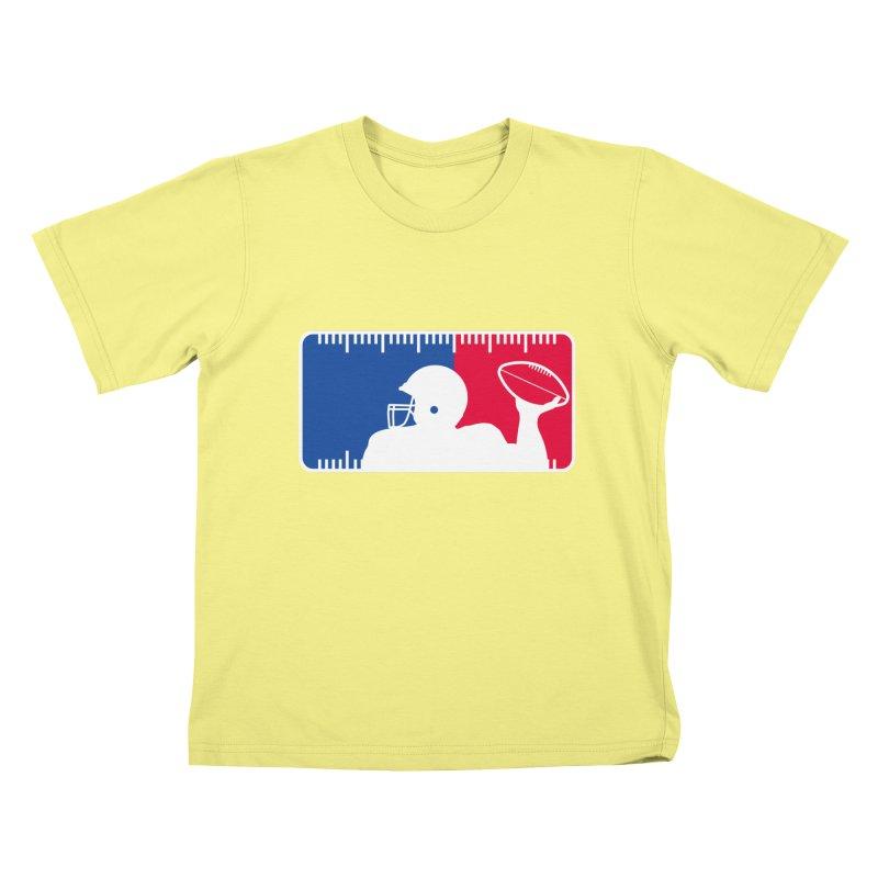 Major League Football Kids T-shirt by Lance Lionetti's Artist Shop