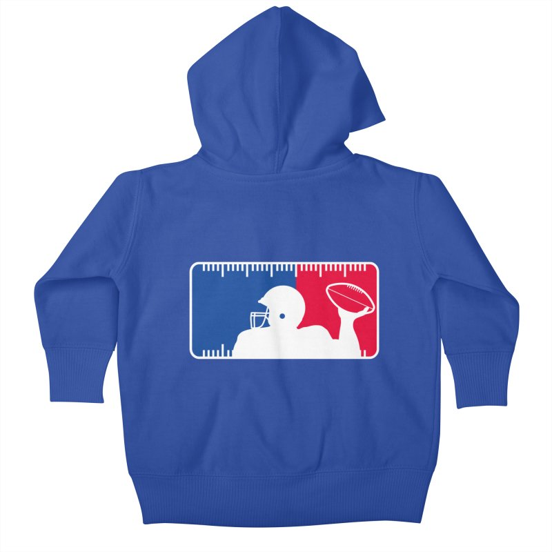 Major League Football Kids Baby Zip-Up Hoody by Lance Lionetti's Artist Shop