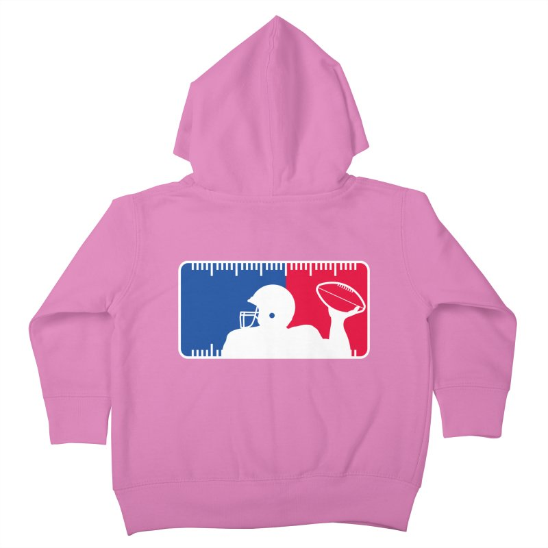 Major League Football Kids Toddler Zip-Up Hoody by Lance Lionetti's Artist Shop