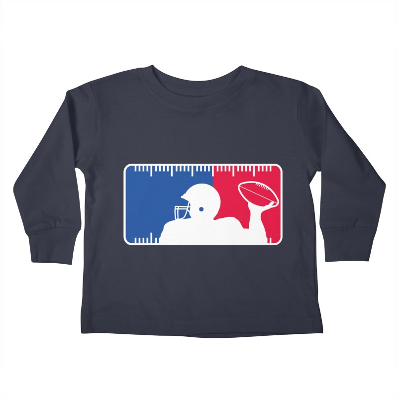 Major League Football Kids Toddler Longsleeve T-Shirt by Lance Lionetti's Artist Shop