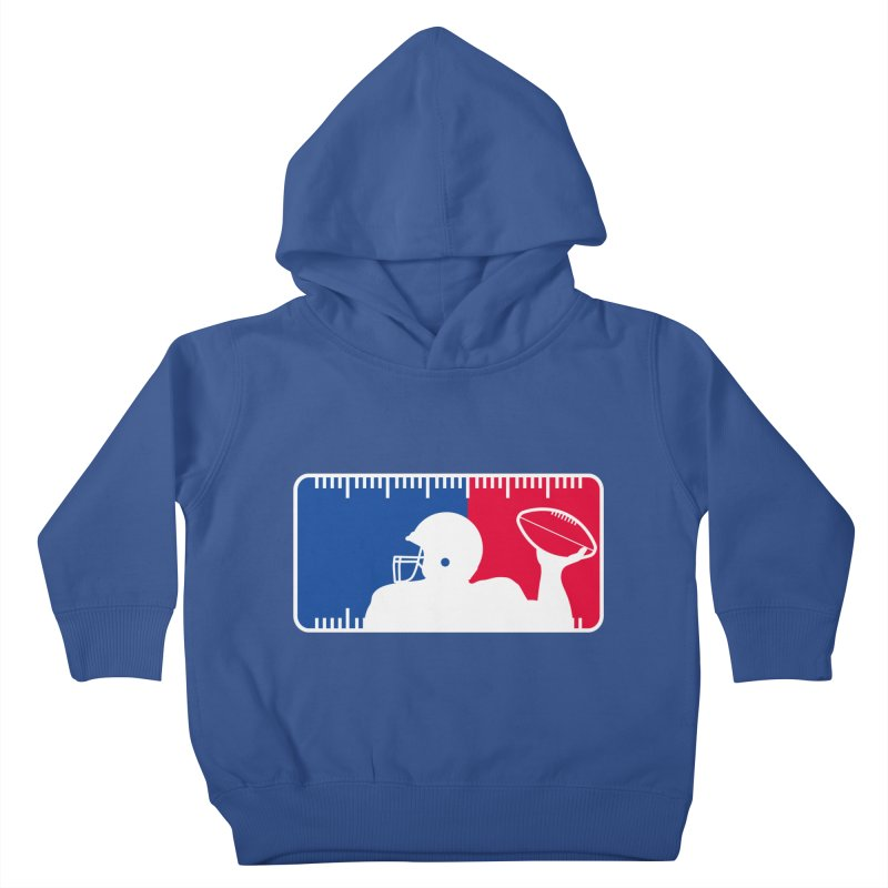 Major League Football Kids Toddler Pullover Hoody by Lance Lionetti's Artist Shop