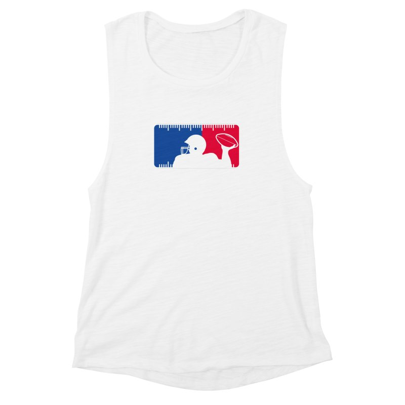 Major League Football Women's Muscle Tank by Lance Lionetti's Artist Shop