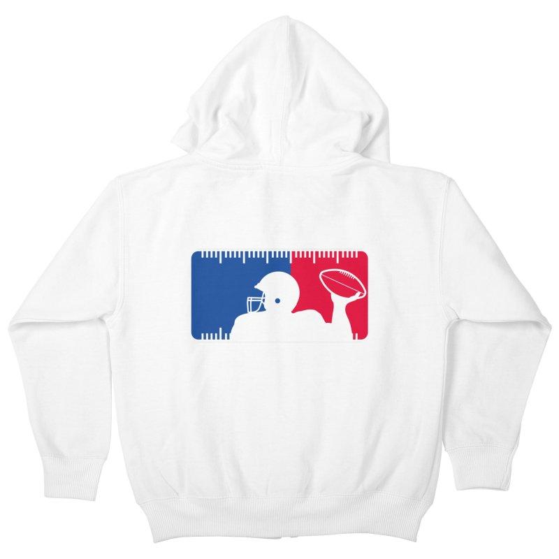 Major League Football Kids Zip-Up Hoody by Lance Lionetti's Artist Shop