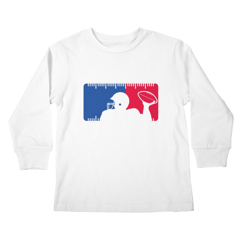 Major League Football Kids Longsleeve T-Shirt by Lance Lionetti's Artist Shop
