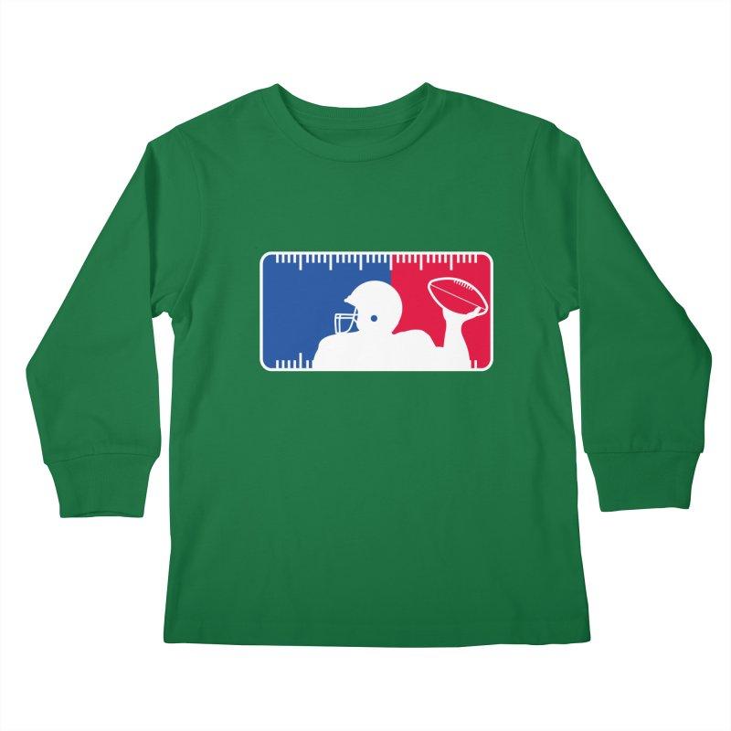 Major League Football Kids Longsleeve T-Shirt by Lance Lionetti's Artist Shop