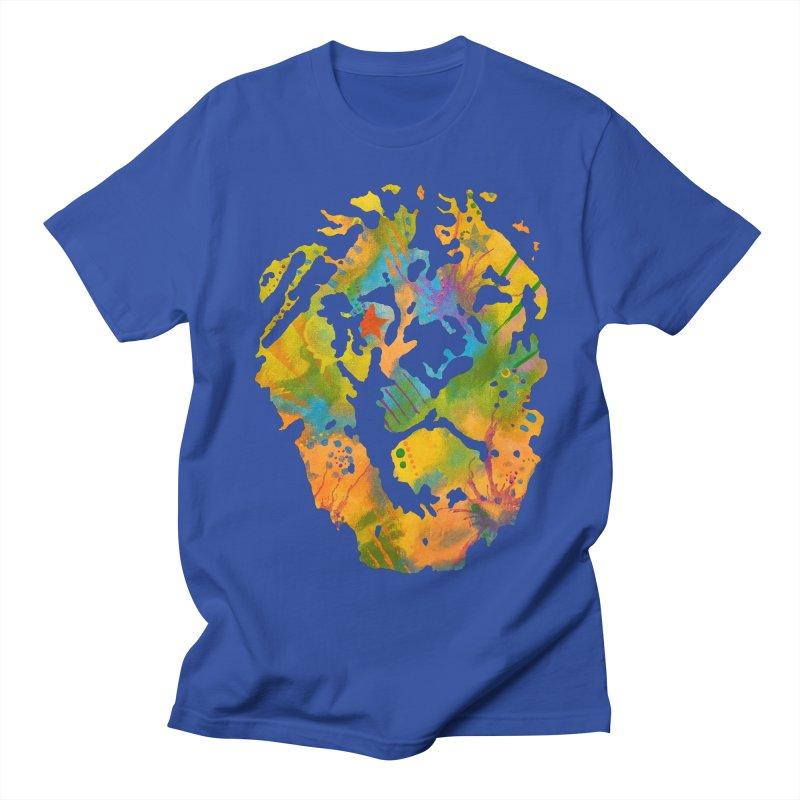 Leo Men's T-Shirt by Lance Olson Art