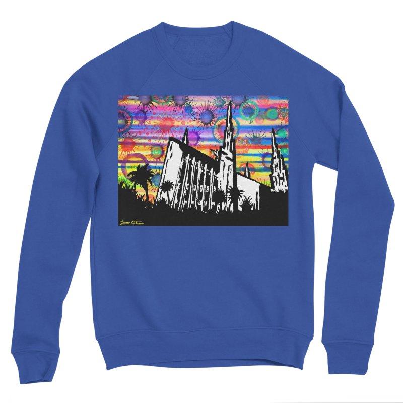 Las Vegas Temple Women's Sweatshirt by Lance Olson Art