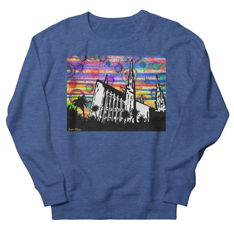 Las Vegas Temple Men's Sweatshirt by Lance Olson Art